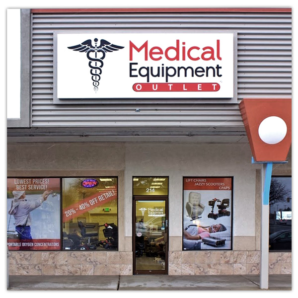 Medical Equipment Outlet Store Front